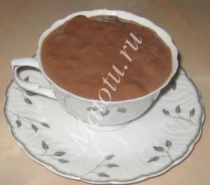 Парижский горячий шоколад, пошаговый рецепт с фото