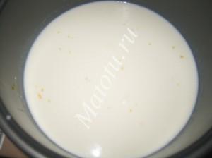 Если в мультиварке нет режима каша на молоке