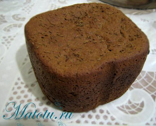 Бородинский хлеб в хлебопечке