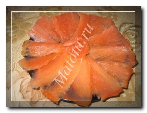 Как солить красную рыбу