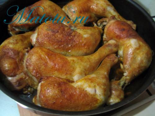Окорочка куриные в духовке