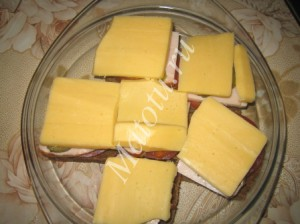 Горячие бутерброды в СВЧ – кулинарный рецепт