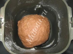 Шоколадный хлеб к чаю в хлебопечке, пошаговый рецепт с фото
