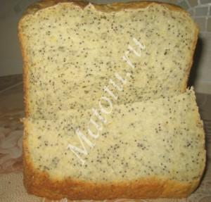 Маковый хлеб