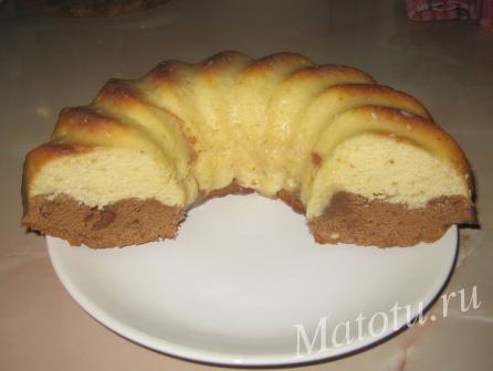 Вкусный кекс
