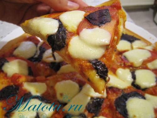 Пирог-пицца – кулинарный рецепт