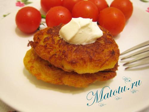 Картофельный драники рецепт
