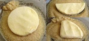 """Творожное печенье """"Полосатик"""" – кулинарный рецепт"""