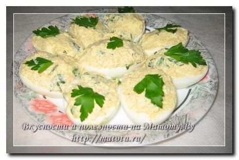 Яйца фаршированные икрой