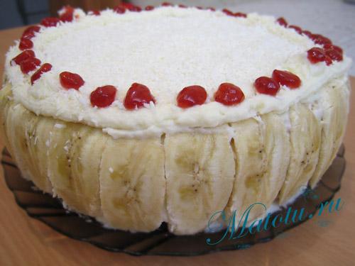Торт кокосовый