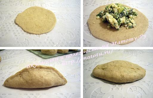 Пирог с луком и яйцом – кулинарный рецепт