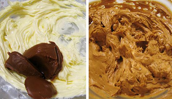 Крем из вареной сгущенки для вафельного торта