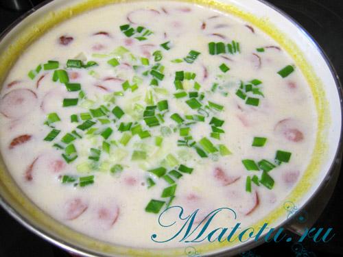 Рецепт супа с плавлеными сырками