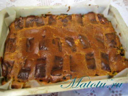 Пирог с зеленым луком – кулинарный рецепт