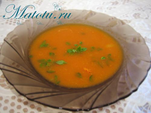 Суп-пюре томатный