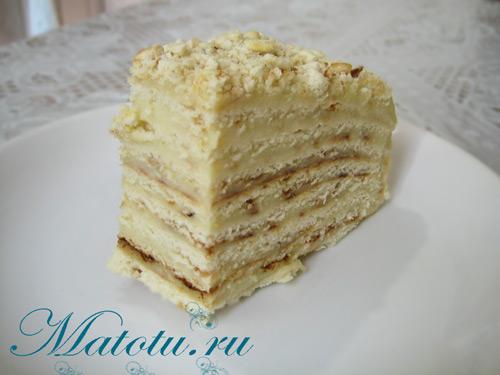 торт на сковороде с медом рецепт