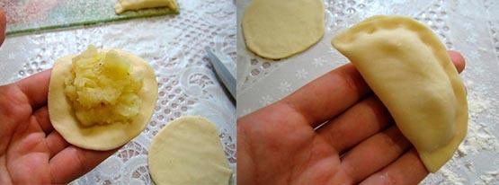 Вареники с картошкой едим большою ложкой – кулинарный рецепт