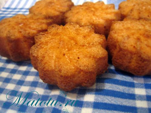 Малиновые кексы на киселе – кулинарный рецепт