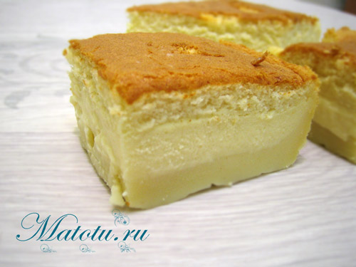Умное пирожное (рецепт)