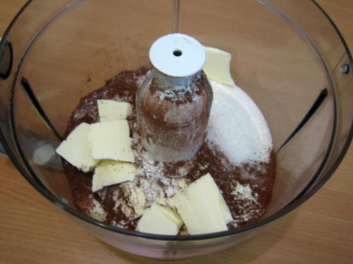 Шоколадный чизкейк с желированной вишней, пошаговый рецепт с фото