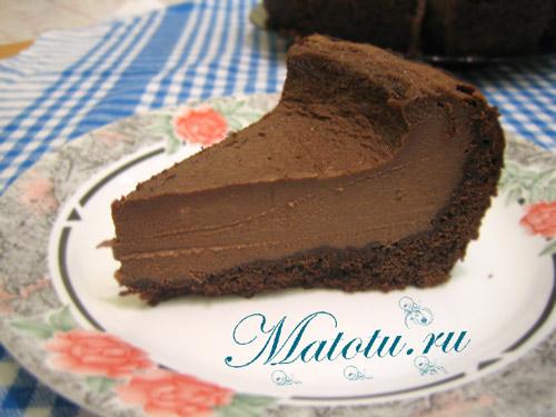 Шоколадный чизкейк рецепт пошагово в мультиварке