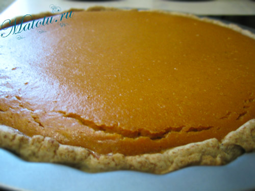 Тыквенный пирог рецепт