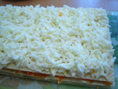 """Закусочный торт """"Сказка"""" – кулинарный рецепт"""