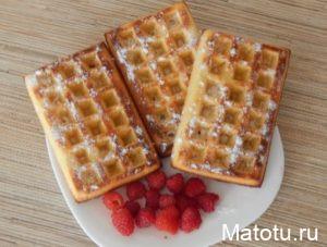 рецепт венских вафель