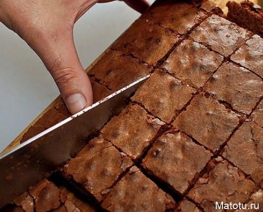 Рецепт пирожного Брауни
