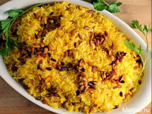 Рецепт шафранового риса