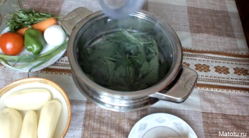 Рецепт супа с крапивой