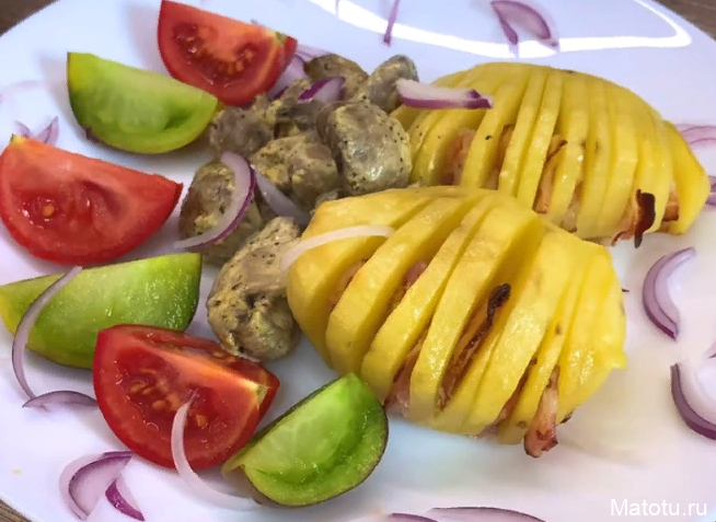 Рецепт запеченого картофеля