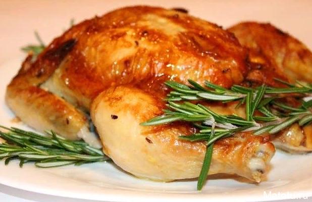 Рецепт курицы на соли