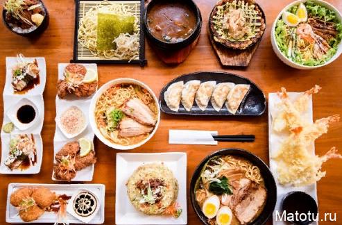 Рецепты японской кухни