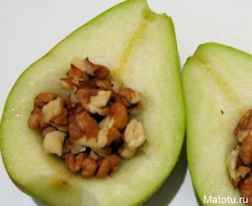 Рецепт запеченных груш