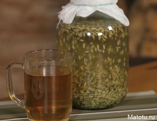 Рецепт напитка из овса